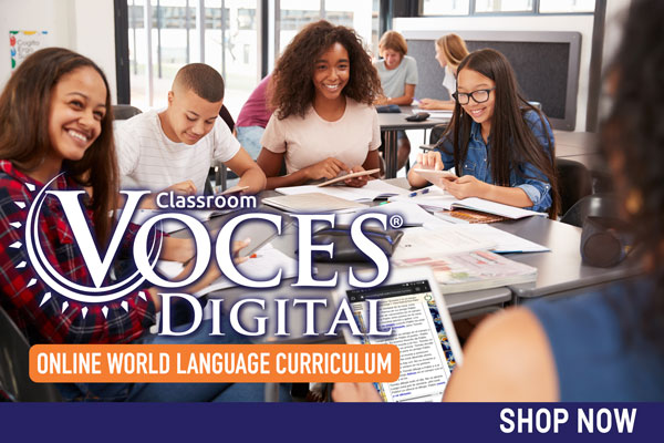 Shop Our Voces Digital Catalog