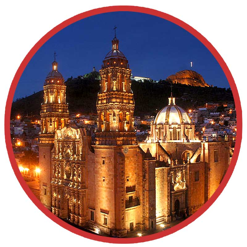 One-Night Lodging at the Hotel Santa Rita in Zacatecas Mexico